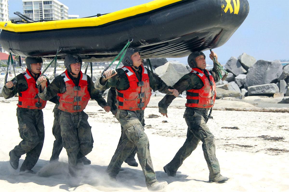 The Navy SEAL Grinder PT | Military com