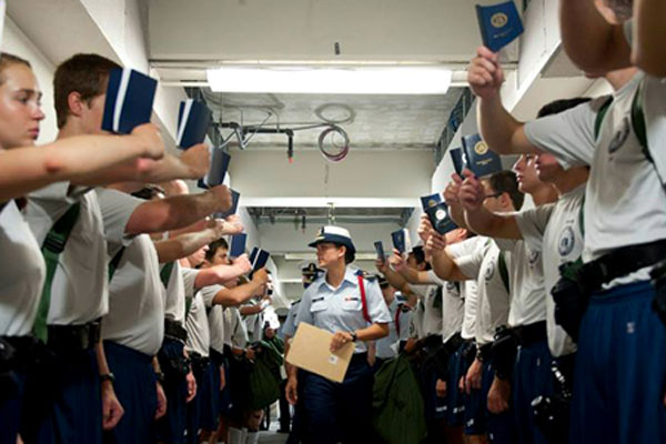 Coast Guard Officer Versus Enlisted Career Paths