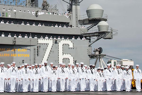 Uss Ronald Reagan Departs For Japan Military Com