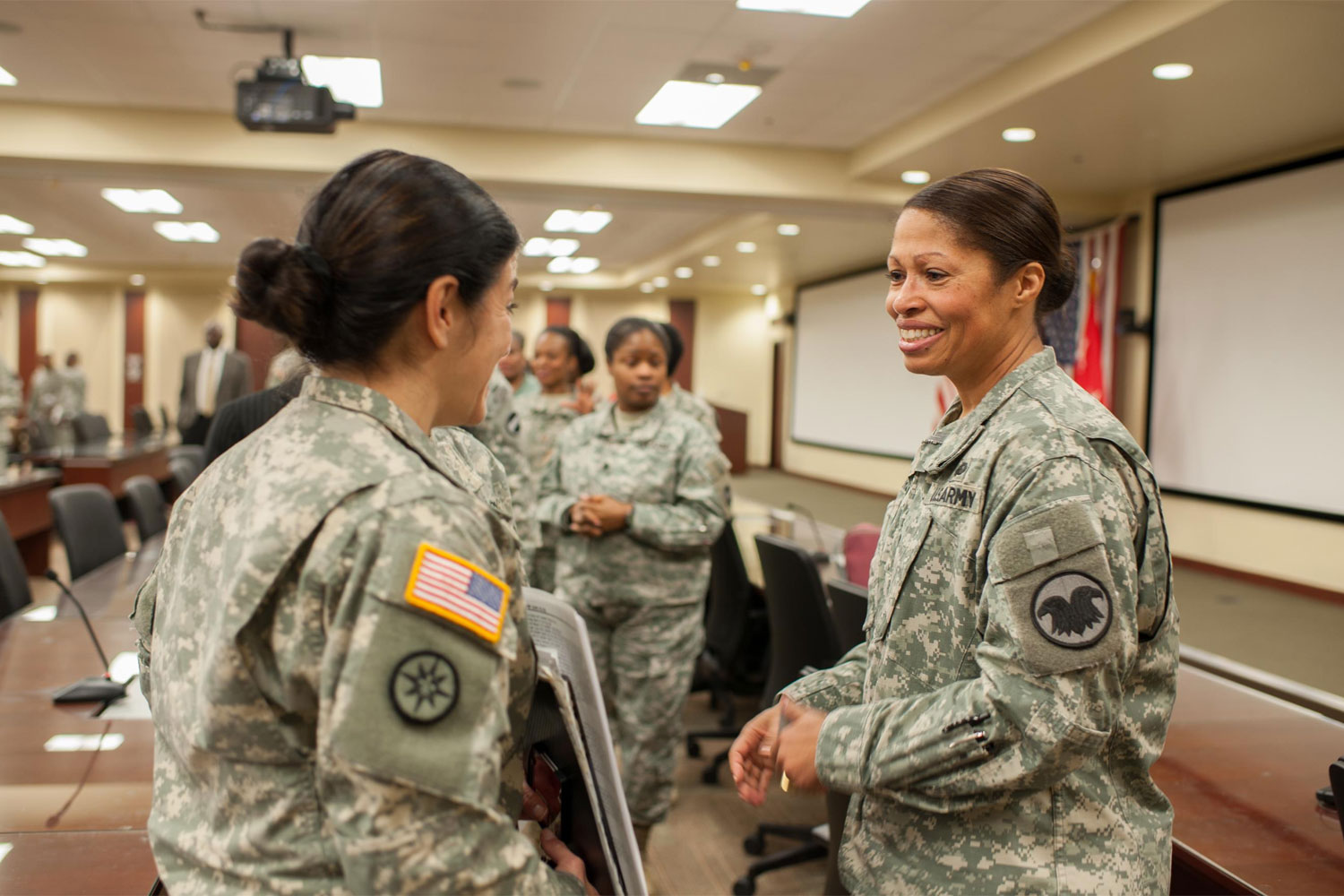 female army general retires with an eye to helping others