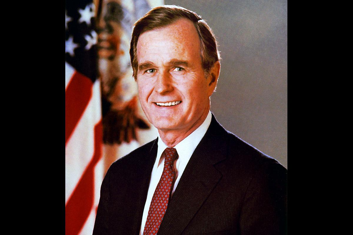 famous veterans george h bush military com