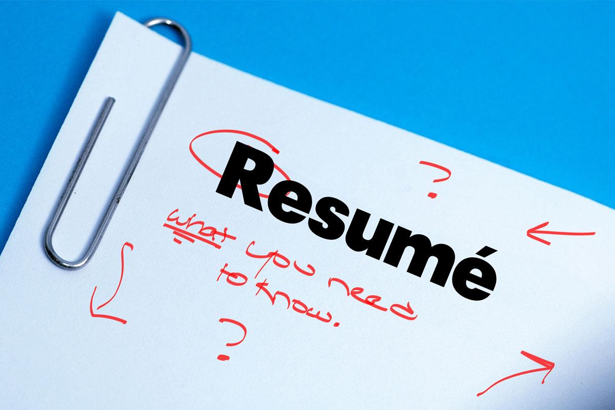 5 resume blunders to avoid