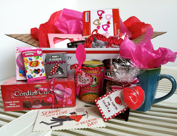create the perfect valentine's care package | military, Ideas