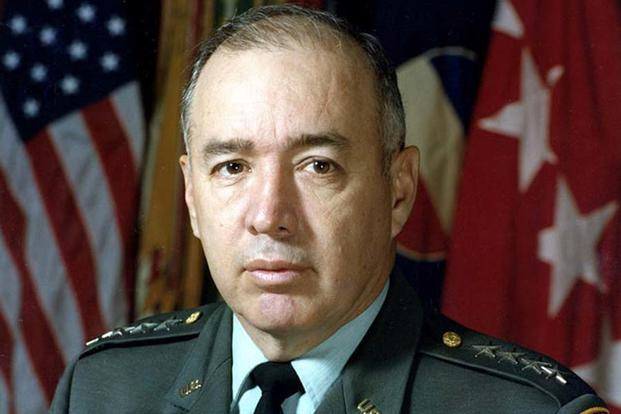 Richard Edward Cavazos was the U.S. Army's first Hispanic four-star general. He retired from the Army in 1984 after leading a brigade, a division, an Army corps and at one point commanding all soldiers in the continental U.S. (U.S. ARMY PHOTO)
