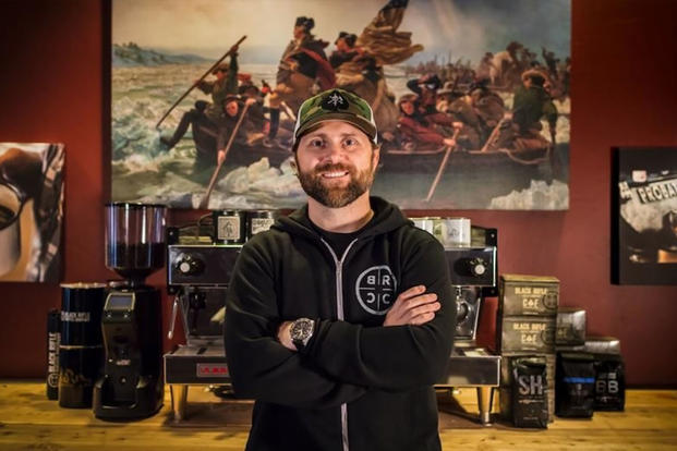 Black Rifle Coffee Company CEO and former Green Beret Evan Hafer (Courtesy of Black Rifle Coffee Company)