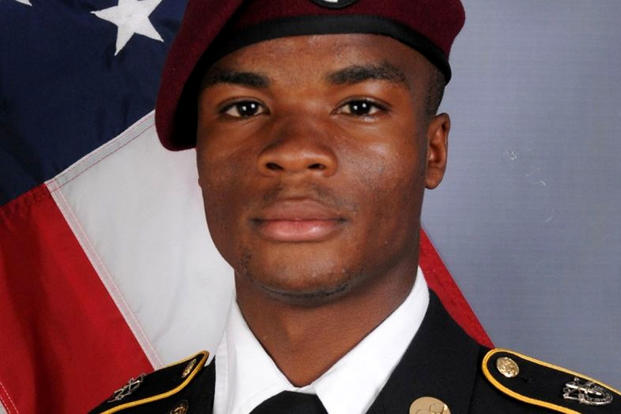 U.S. Army Sergeant La David Johnson, who was among four special forces soldiers killed in Niger. (U.S. Army photo)