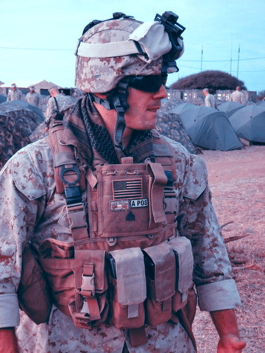 Matt DeMaio, a Marine corps veteran, is about to mark the end of the second year for his company, Condition One, which is now providing energy bars to one NFL team and courting interest from other major-league sports teams. (Courtesy photo)