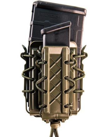 High Speed Gear's new Poly Double Decker TACO -- which combines a rifle magazine pouch and pistol magazine pouch in one secure unit -- is part of the new Polymer TACO line. Photo: High Speed Gear.