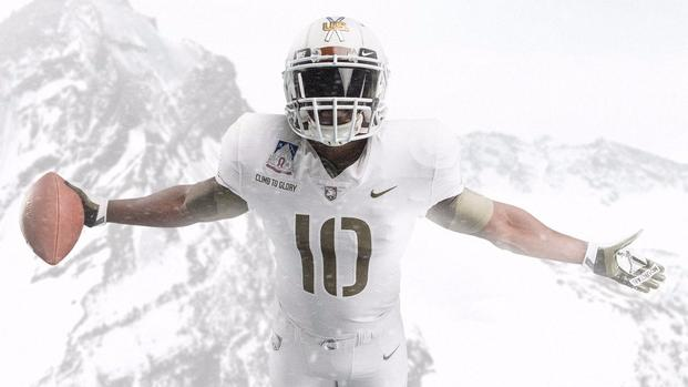 reputable site 09ded b3f26 Army Football Honors 10th Mountain with 'Pando Commando ...