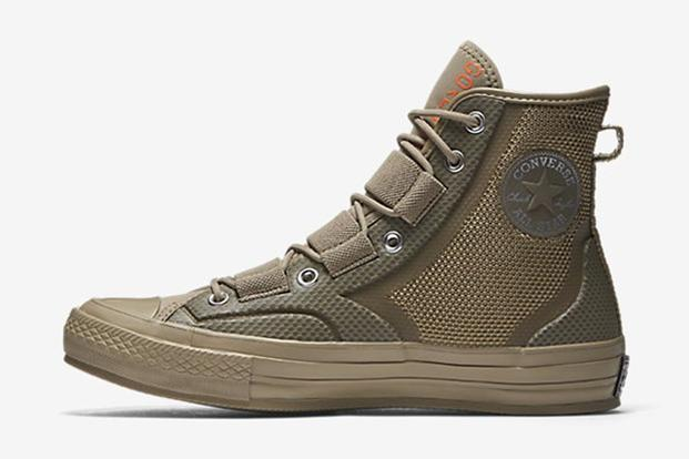 "Converse, which made footwear for the military during World War II, has rolled out a new line of ""Urban Utility"" sneakers designed with durability in mind. (Image courtesy Converse)"