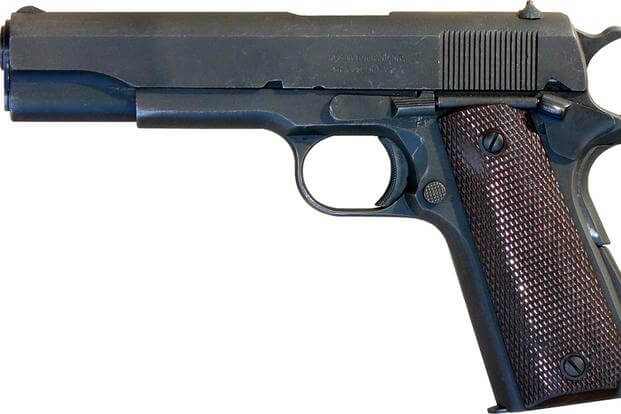 The U.S. Army is expected to transfer thousands of surplus M1911 pistols for civilian sale in fiscal 2018 (Photo: Wikipedia)