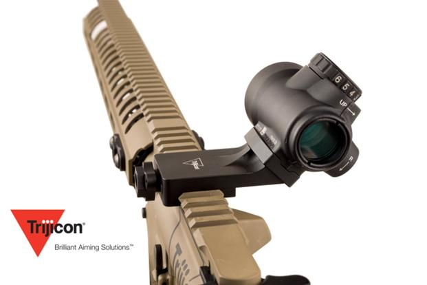Trijicon recently unveiled a new series of quick-release mounts for two of its popular reflex sights. Photo via Recoilweb.com