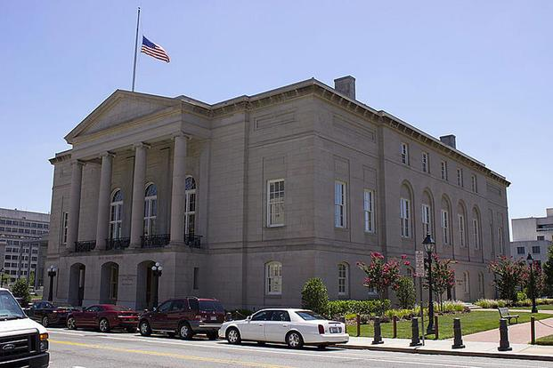 The Court of Appeals for the Armed Forces, shown here, tossed out the conviction of Boatswain's Mate 2nd Class John C. Riesbeck. Wikipedia image
