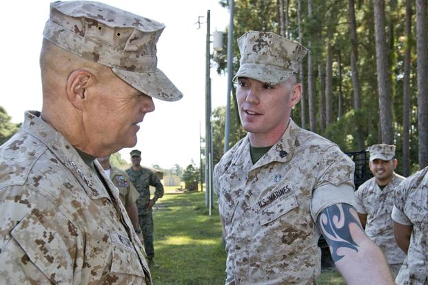 Marine Commandant Opens Up About Controversial Tattoo Policy