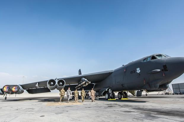 Air Force Sets Another B-52 Smart Bomb Record in Afghanistan