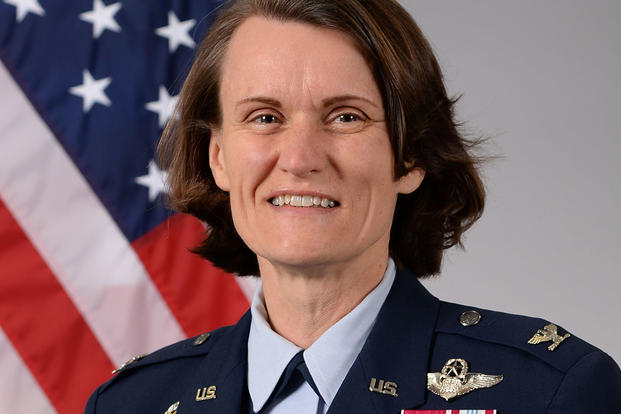 Col. Leslie A. Maher, commander of the 375th Air Mobility Wing at Scott Air Force Base. (U.S. Air Force photo)