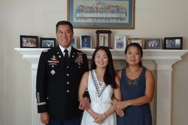 Retired Army Lt. Col. Patrick Schreiber is hoping his Kansas family --  daughter