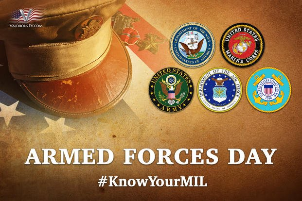 armed forces day  know your military