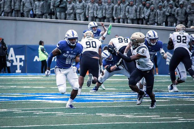 Air Force - Navy game, October 6, 2018 (Air Force photo)