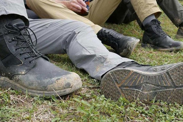 GORUCK's MACV-1 jungle boots. (Courtesy Photo)