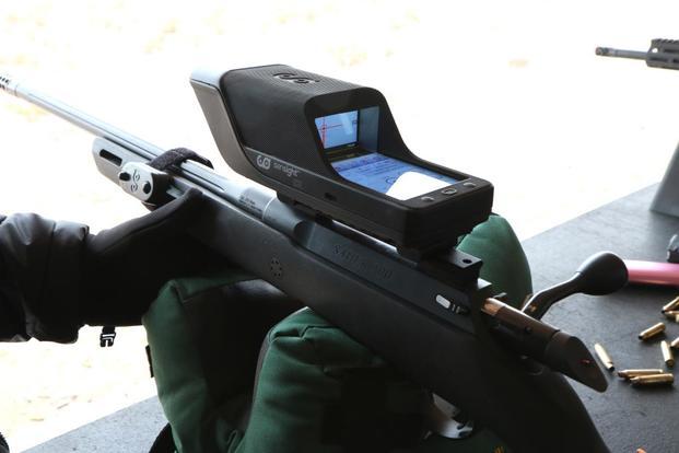 Israeli Firm Unveils Smartphone-Style Digital Rifle Sight