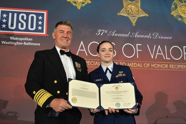 Petty Officer Awarded First Coast Guard Medal Since 2016 for