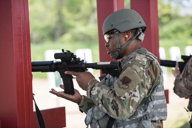 Trainees at Air Force BMT to Start Training on M4 This