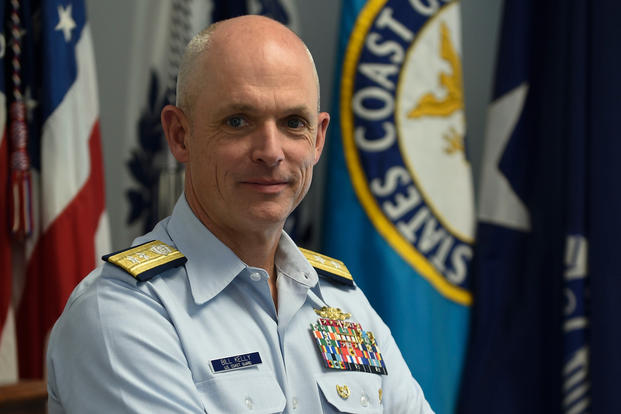 Rear Adm. William G. Kelly became the 42nd Superintendent of the U.S. Coast Guard Academy on May 30, 2019. (U.S. Coast Guard photo/Matt Thieme)