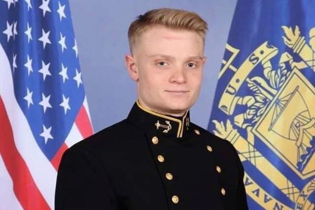 Joshua Kaleb Watson, a new U.S. Naval Academy graduate and aviation trainee. His family says he was killed in the Pensacola shooting (Enterprise High School via Facebook)