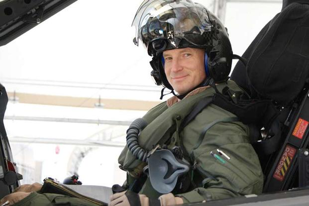 U.S. Marine Corps Lt. Col. Brian W. Bann, a Marine Corps F-35B pilot, became the first military pilot to accumulate more than 1,000 flight hours in the F-35 Lightning II (U.S. Marine Corps)