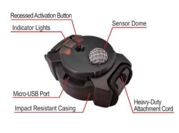 The B3G7 blast sensor.