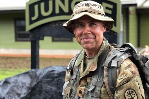 NEW OFFICIAL Jungle Warfare School TRF