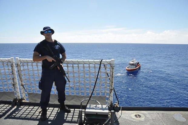 Maritime Enforcement Specialist 1st Class Cintron