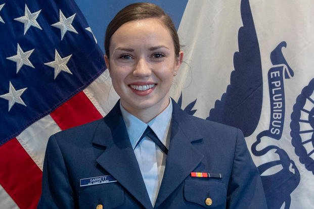 Coast Guard Ensign Morgan Garrett, of Waxhaw, N.C., died when her aircraft went down in a neighborhood in Foley, Alabama, Oct. 23, 2020. (U.S. Coast Guard)
