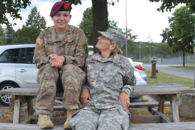 Mother, daughter stationed in Germany