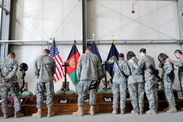 438th Air Expeditionary Wing memorial service