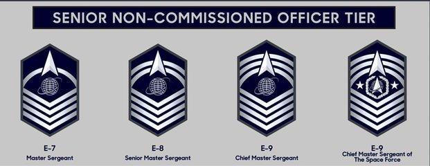 U.S. Space Force senior NCO ranks