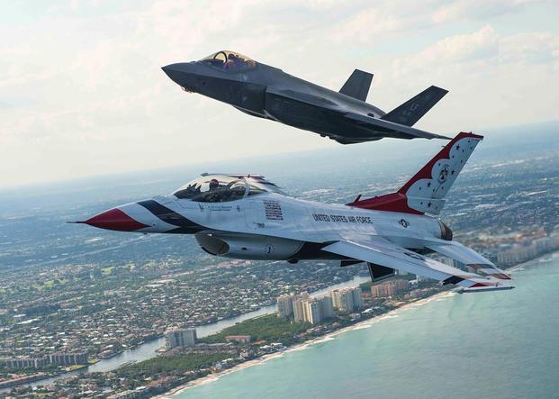 Will The F 35 Be The Next Thunderbirds Jet Military Com
