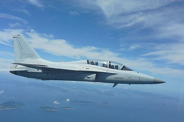 The Korean-made FA-50 jet fighter is being added to the Republic of the Philippines' weapons arsenal; it has received the   first two of 12 aircraft purchased. (Korea Aerospace Industries)