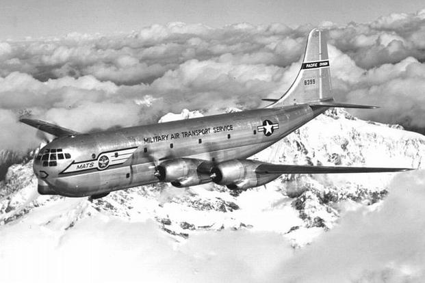 C-97A Stratofreighter. (U.S. Air Force photo)