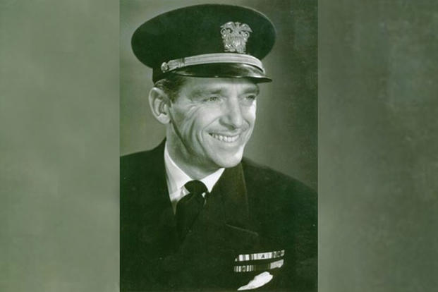 Commander Douglas Fairbanks, Jr. (U.S. Navy photo)
