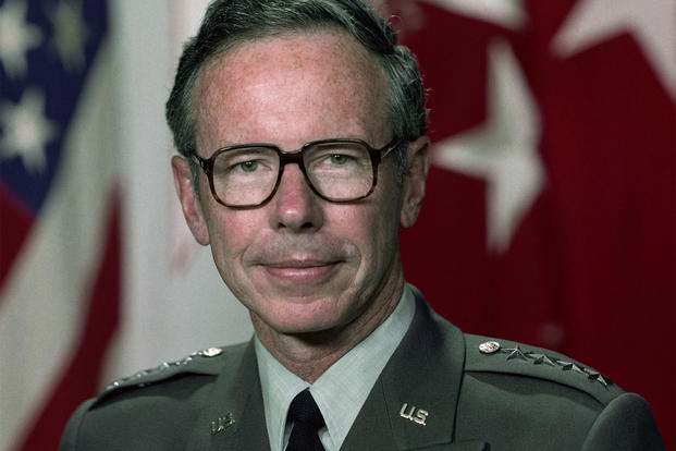 Maxwell Thurman's portrait as Vice Chief of Staff of the Army (Photo: U.S. Army)
