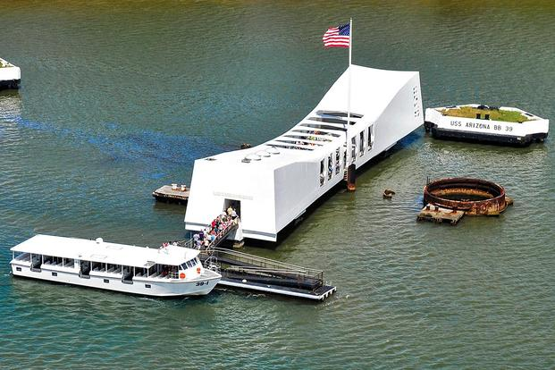 USS Arizona Memorial. (U.S. Navy photo by MC3  Diana Quinlan.)