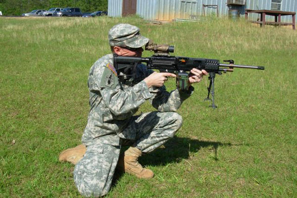 Army test-rifle
