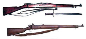 Army rifles from 1926-1956
