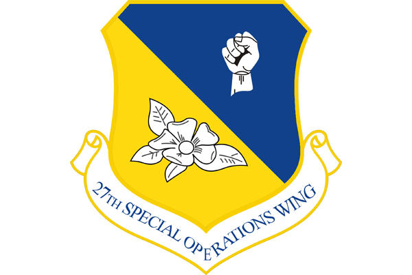 27th Special Operations Wing shield