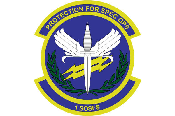 1st Special Operations Security Forces Squadron logo