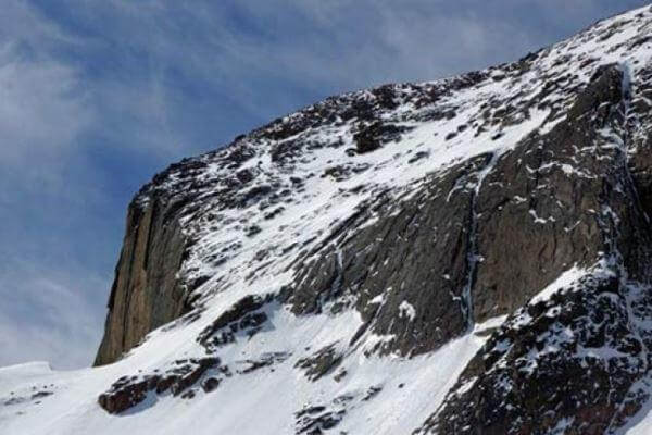 This photo from May depicts the north face of Longs Peak. (PHoto courtesy National Park Service via Fox News)