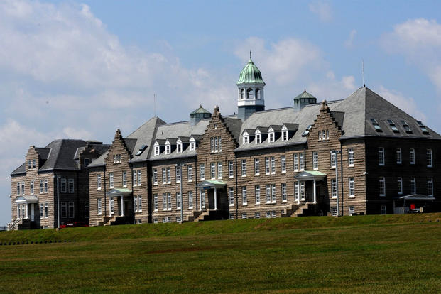 The U.S. Naval War College's Luce Hall is located at Naval Station Newport in Rhode Island. Named after Rear Adm. Stephen B. Luce, the hall is used by the Naval Command College and College of International Programs. (US Navy photo/Haley Nace)