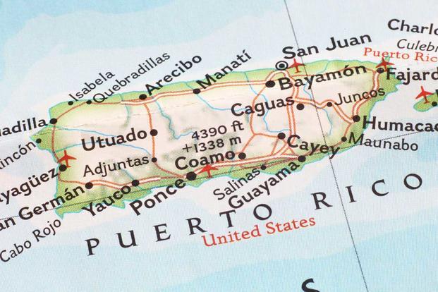 Commonwealth Of Puerto Rico Veteran Benefits Militarycom - Map us puerto rico